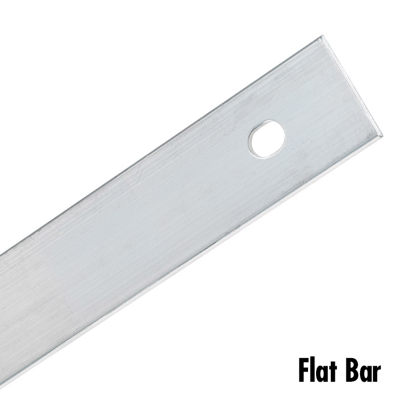 Image of a flat termination bar