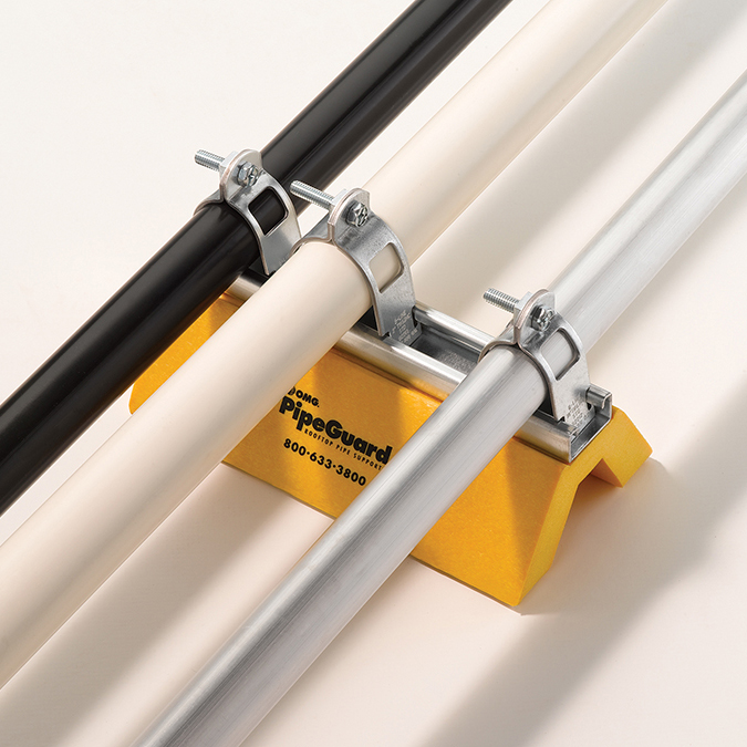 Image of Application Strut Model PipeGuard in Yellow