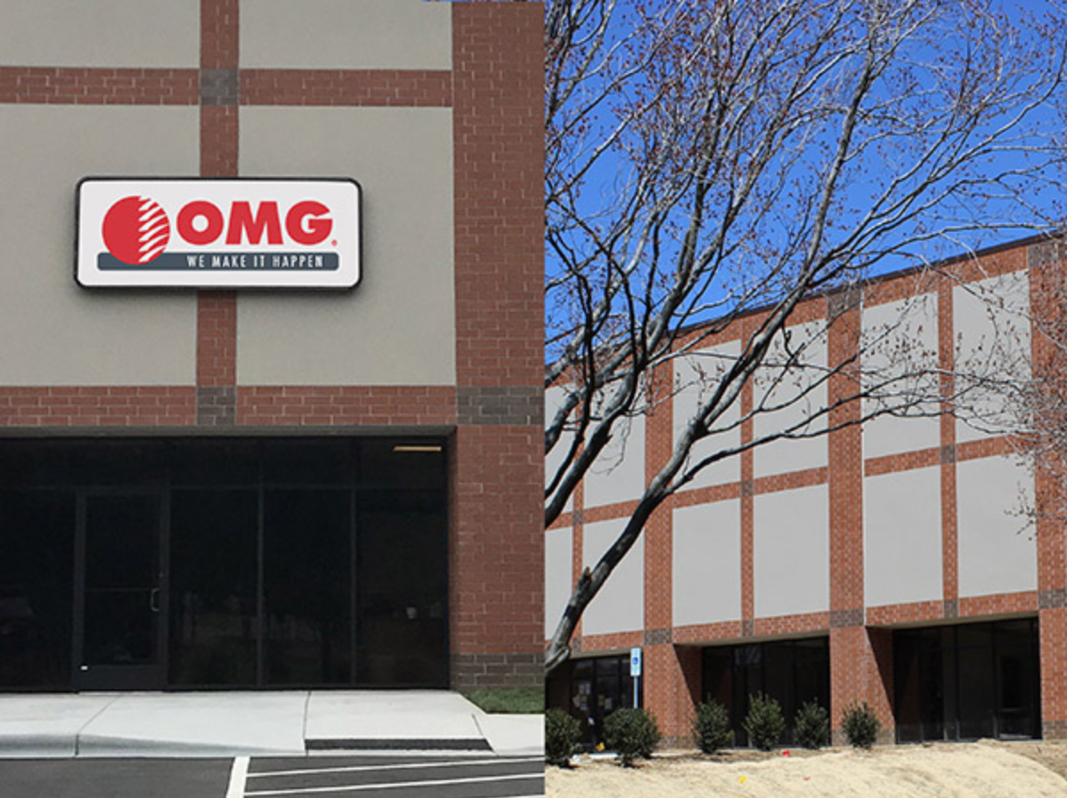 Image of OMG warehouse in Charlotte