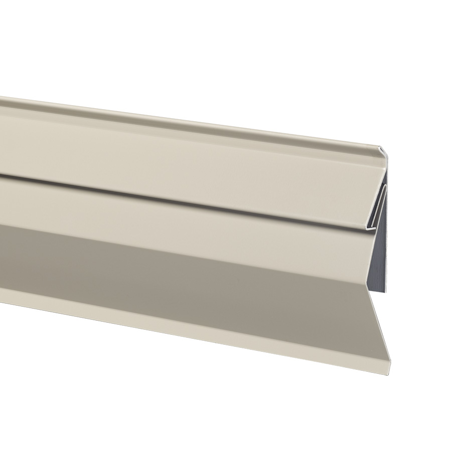 Image of concealed mount counter flashing